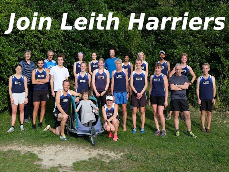 Register with Leith Athletics from 1 April 2021 for the April 2021- March 2022 season