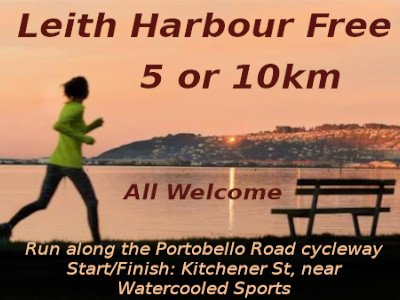 The 18th Leith Harbour Free, takes place Sun, 31 January 2021 starting 8am Course Two